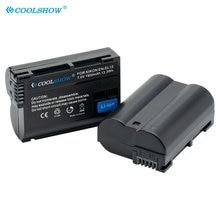 EN-EL15 /EN-EL15a Camera Battery for Nikon D7500 D7200 D7100 D7000 D850 D810 D810A D800 D800E 1900mah EL15 Batteries