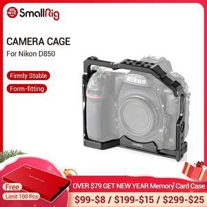 Image 1 - Petite Cage de montage pour Nikon D850 avec plaque QR suisse Arca intégrée et Rail otan 2129