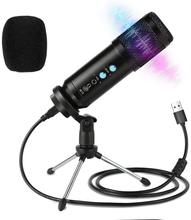 USB kondenser mikrofon kitleri PC bilgisayar bm 800 mikrofon Karaoke stüdyo kayıt mikrofon YouTube Video oyunu Podcast