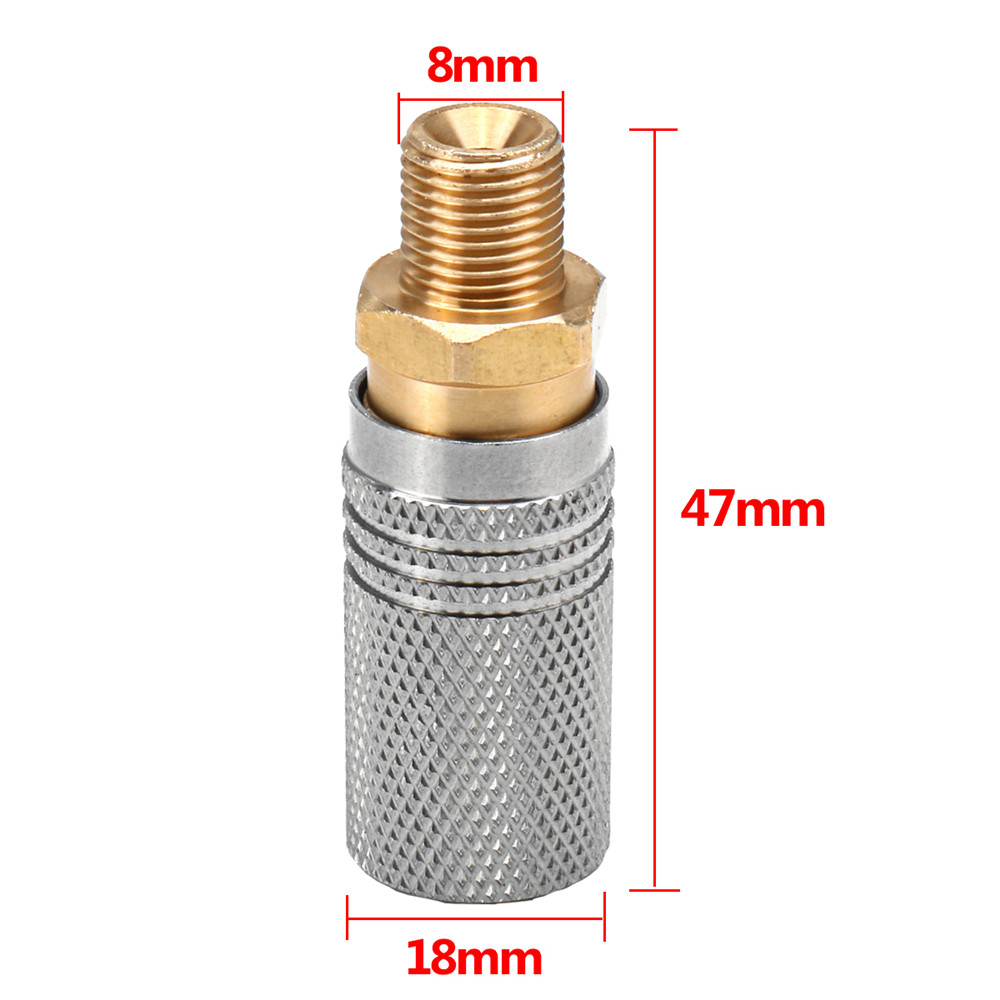Image 4 - Extended PCP Air Charging Quick Release Adapter Socket 1/8 BSP-in Paintball Accessories from Sports & Entertainment