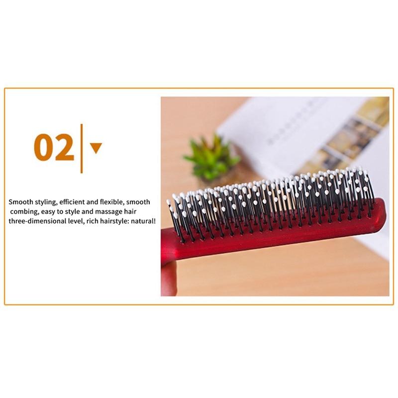 4 pçs escovas de cabelo para mulher-pente