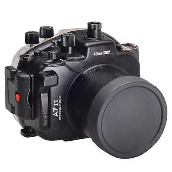 for Sony A7 II A7s A7r Mark II 28-70 ILCE-7 ii 28-70mm A7M2 Meikon 40M 130ft Waterproof Underwater Diving Camera Housing Case - DISCOUNT ITEM  43 OFF Consumer Electronics