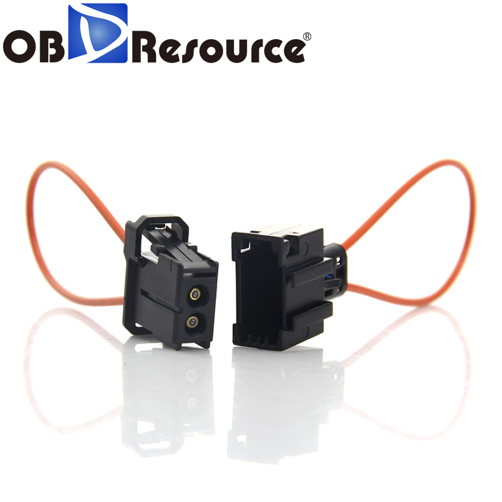 OBDResource Female Male MOST Fiber Optic Loop Bypass Female Connector Auto Diagnostic Cable For Audi BMW Porsche Benz Car Repair(China)