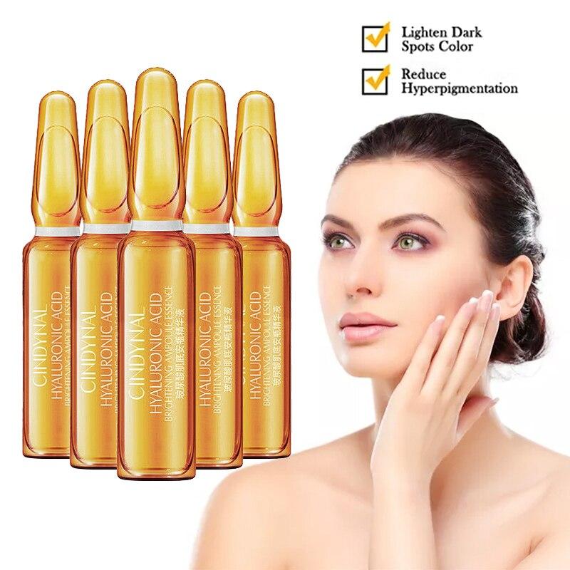7 Pcs/set Natural Hyaluronic Acid Face Essence Shrink Pore Hydrating Face Serum Moisturizing Body Lotion Skin Care Essence TSLM2