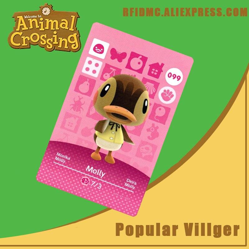 099 Molly Animal Crossing Card Amiibo For New Horizons