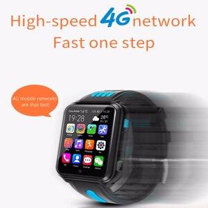 Image 4 - スマート腕時計4グラムアンドロイド電話子供スマートウォッチsimカードとtfカードデュアルカメラwifi腕時計gps測位クアッドコア