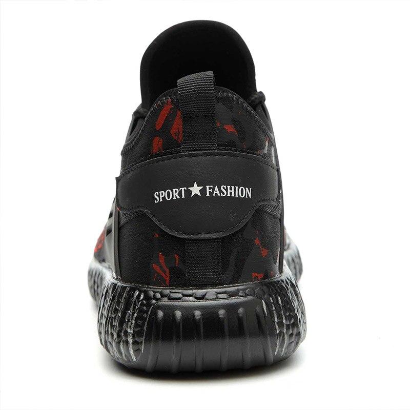 MWSC безопасность рабочие ботинки обувь для мужские легкие Анти-разбивая стальной носок рабочие ботинки мужская Строительная защитная обувь...