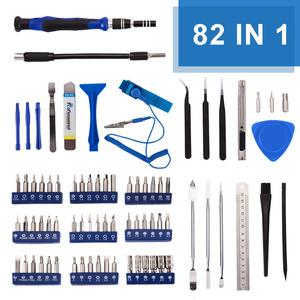 Image 2 - KALAIDUN 82 in 1 with 57 Bit Magnetic Driver Kit Precision Screwdriver set Hand Tools for Phone Electronics Repair Tool Kit