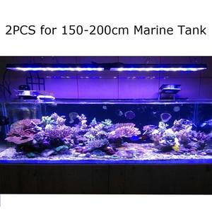 Image 2 - 2PCS PopBloom אקווריום Led תאורה ימי שונית אור עבור מי ים אקווריום שונית Led הימי אקווריום אלמוגים טנק מנורת Turing75