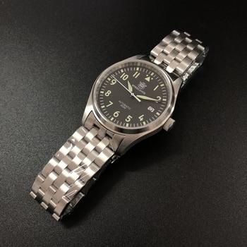 Steeldive SD1940 Automatic Mechanical Men Watch 200m Waterproof Stainless Steel Pilot Business Luminous Watches Sapphire Glass
