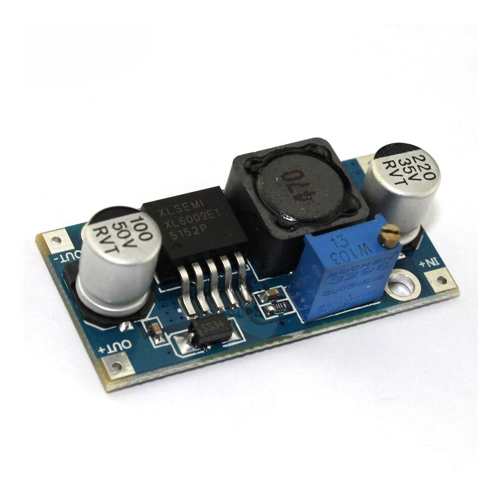 5pcs/lot XL6009 DC-DC Booster Module Power Supply Module Output Is Adjustable Super LM2577 Step-up Module