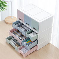 Makeup Organizer Large Capacity Cosmetic Storage Box Dressing Table Skin Care Rack House Container make up Drawer