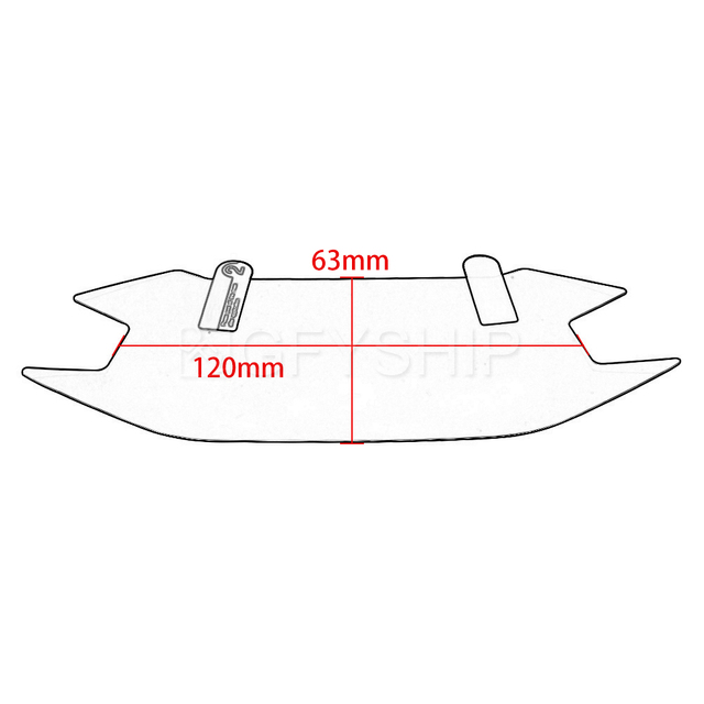 For Honda CBR500R CB500F 2019 CBR 500R CB500F Scratch Cluster Screen Dashboard Protection Instrument Film CBR500 CB500 F X R