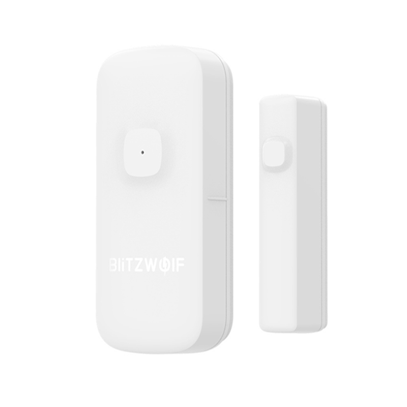 lowest price BlitzWolf BW-IS2 Zigbee Smart Home Door  amp  Window Sensor Open Close APP Remote Alarm Home Safty Against Thef Smart Remote Control