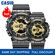 Casio watch Couple watches men and women fashion sports watch waterproof electronic form set GA-110GB-1A BA-110-1A peter b dixon handbook of computable general equilibrium modeling set vols 1a and1b 1a 1b