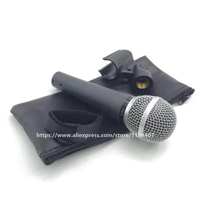 High Quality Version SM58 SM58S SM 58 Professional Cardioid Dynamic Handheld Karaoke Wired Microphone Microfone Microfono Mic