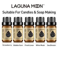 Lagunamoon 10ml Fresh Linen Fragrance Oil Flower Fruit Essential