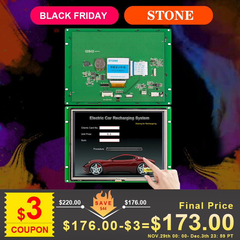 8 Inch TFT Type LCD  Module For Health Machine