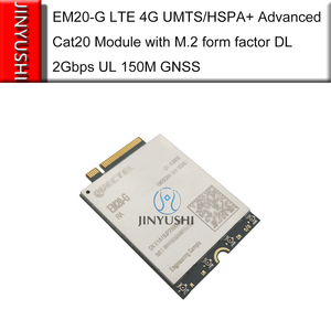 Image 2 - العلامة التجارية الجديدة لا وهمية! EM20 EM20 G LTE 4G المتقدمة Cat20 وحدة EM20GRA 512 SGAS مع M.2 شكل عامل DL 2Gbps UL 150M GNSS