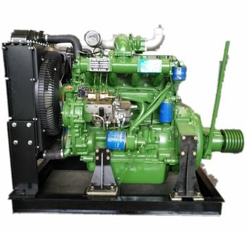 цена на China supplier Weifang ZH4105ZP 63kw Diesel Engine for Water Pump & fixed power Usage with clutch connecting