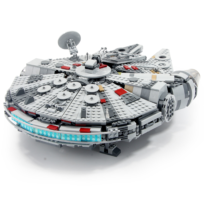 Star Wars Millennium Spacecraft Falcon Skywalker Starship Model Minifigureinglys Building Blocks Toy Legoinglys 75257 Ids Toys