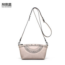 2019 New women genuine leather bag luxury handbags women bags designer fashion women shoulder Crossbody bag leather bag small недорого