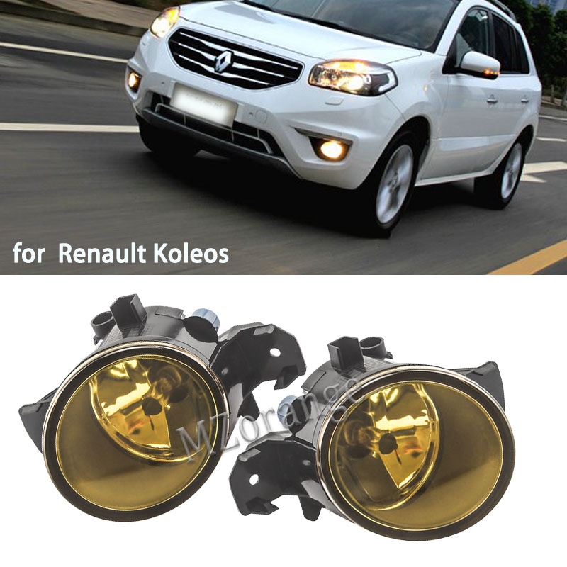 2PCS Fog Light For <font><b>Renault</b></font> <font><b>MASTER</b></font> <font><b>3</b></font> VEL SATIS THALIA SYMBOL KOLEOS 1998-2015 Fog Lamp Assembly Super Bright <font><b>Led</b></font> Fog Lights image