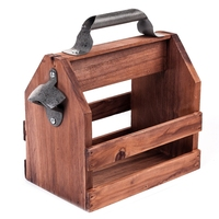 Горячая Распродажа, барный инструмент, открывалка для пивных бутылок из нержавеющей стали, забавные деревянные корзины для вина