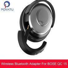 POYATU QC15 Wireless Bluetooth aptX Adapter For Bose QC15 QC 15  QuietComfort 15 Wireless Bluetooth Speaker Adapter Receiver