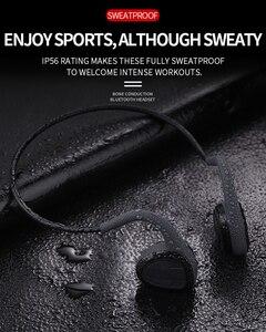 Image 5 - R11 Headphones Bluetooth 5.0 Bone Conduction Headsets Wireless Sports earphones Mic Handsfree Support Drop Shipping