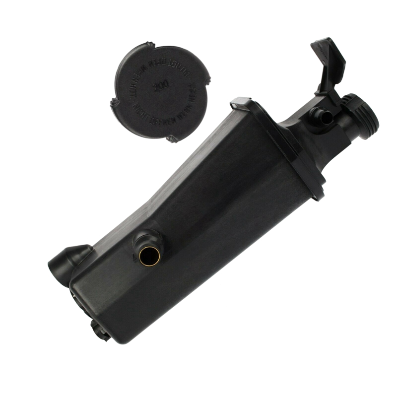Engine Coolant Recovery Expansion Tank Reservoir with Cap for BMW 3 Series E46 X3 E83 X5 E53 <font><b>17117573781</b></font> image