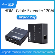 цены 120M HDMI Extender 1080p 3D HDMI Transmitter Receiver over Cat 5e/6 RJ45 Ethernet