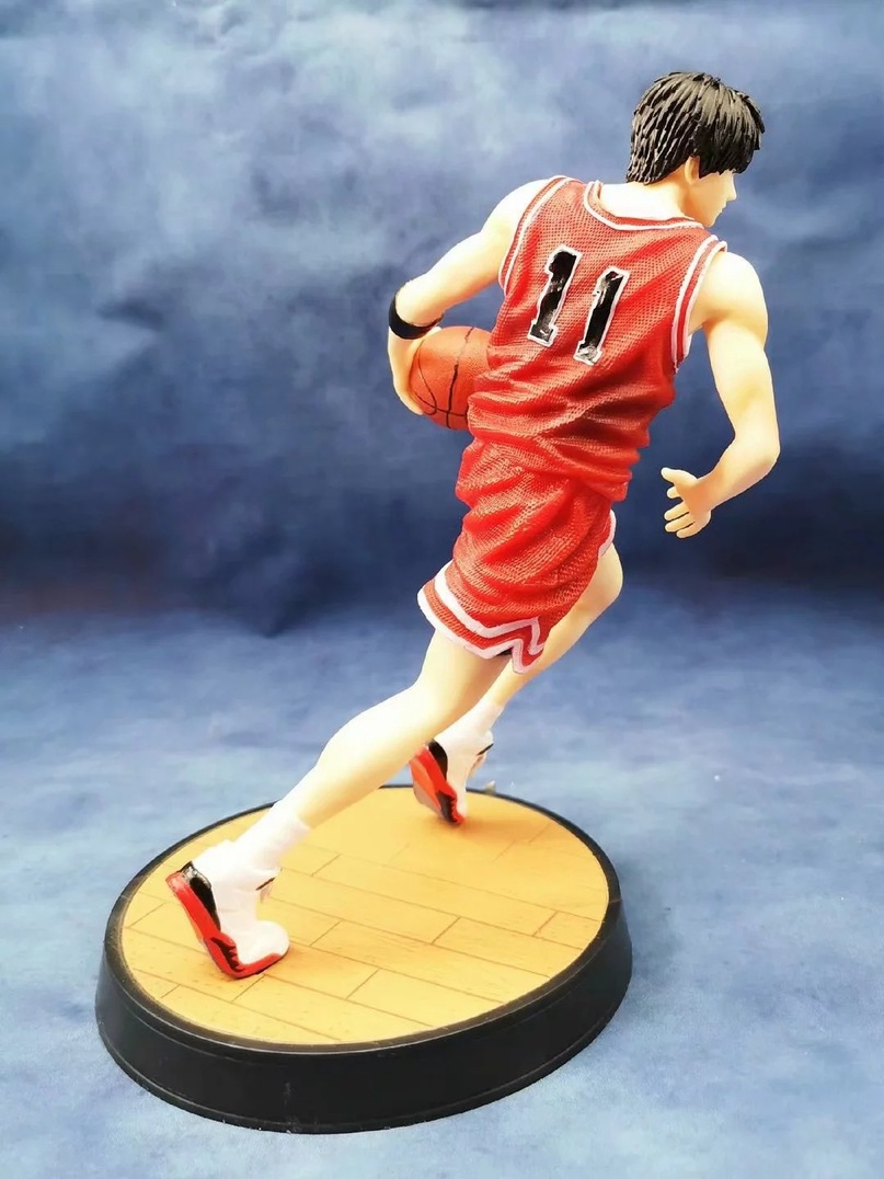 Anime SLAM DUNK Hanamichi Sakuragi PVC Action Figure Collect Figurine Toy 23CM