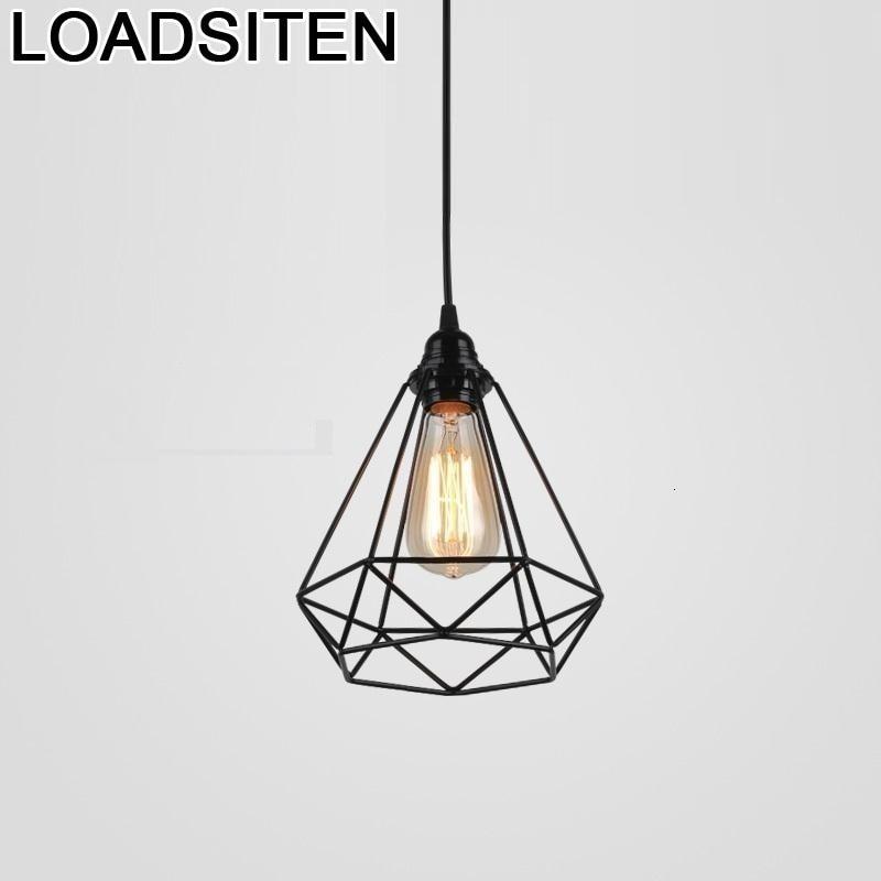 Deco Cuisine Lustre Pendente Industrial Pendant Light Suspendu Suspension Luminaire Luminaria Lampara Colgante Hanging Lamp