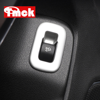 For Mercedes Benz A Class W177 V177 A180 A200 A220 A250 2019+ Car Accessories Tail Door Trunk Button Switch Frame Cover Trim ABS image