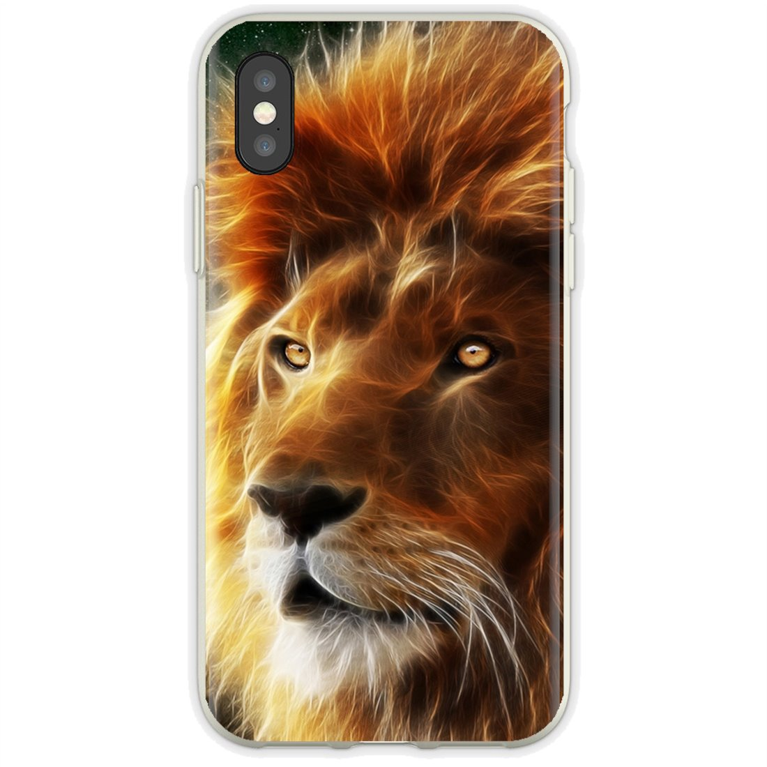 Tiger and lion head Buy Silicone Phone Case For Huawei Honor Y5 2018 2019 8S 9X Pro 20 10 10i Lite(China)