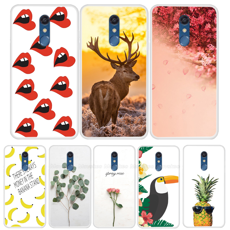 Case For <font><b>LG</b></font> <font><b>K11</b></font> <font><b>Phone</b></font> Case Cartoon Silicone Soft TPU Back Cover For <font><b>LG</b></font> <font><b>K11</b></font> 2018 K 11 Case Coque Fundas Bumper Painting Shell New image