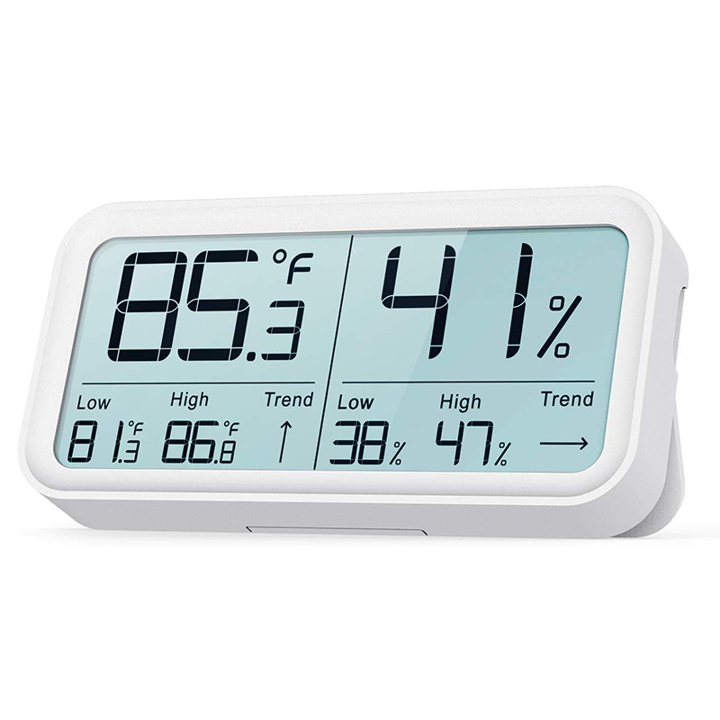 BF-8 Indoor Temperature and Humidity Meter,Hygrometer,High-Precision Digital Sensor (SHT Series), High-Definition Digh-Contrast