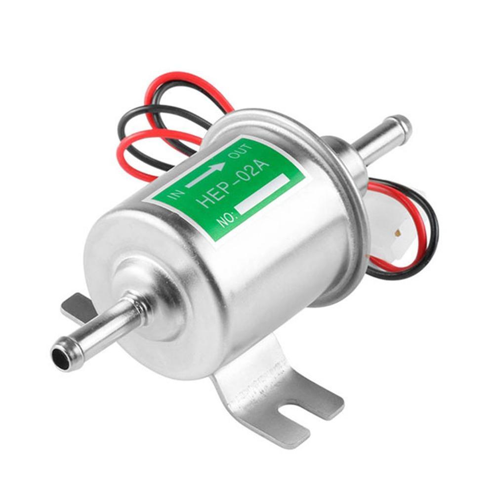 12 v/24 v электрический насос HEP-02A Автомобильный Электронный бензонасос Электронный Топливный насос автомобильный бензиновый насос