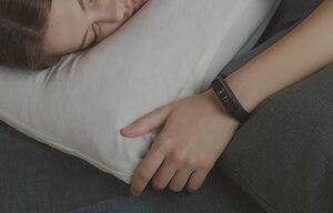 Image 3 - オリジナルxiaomi miバンド4スマート腕時計amoledカラー画面heartrateフィットネススポーツ50ATM防水スマートブレスレットのbluetooth 5.0