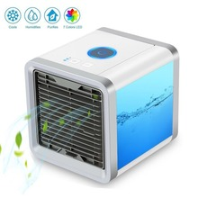 USB Portable Activated Carbon Anion Aromatherapy Humidification Air Conditioner Fan Air Conditioner Fan Air Conditioner box fan midea air conditioner indoor fan motor ydks 18 4 plastic sealing machine gree air conditioner inner motor