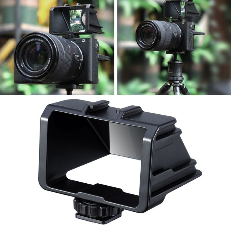 Plastic Flip Screen Bracket Periscope Vlog Selfie Stand Holder for Sony A6000 A6300 A7II A7RIII A7M3 Accessories Kit