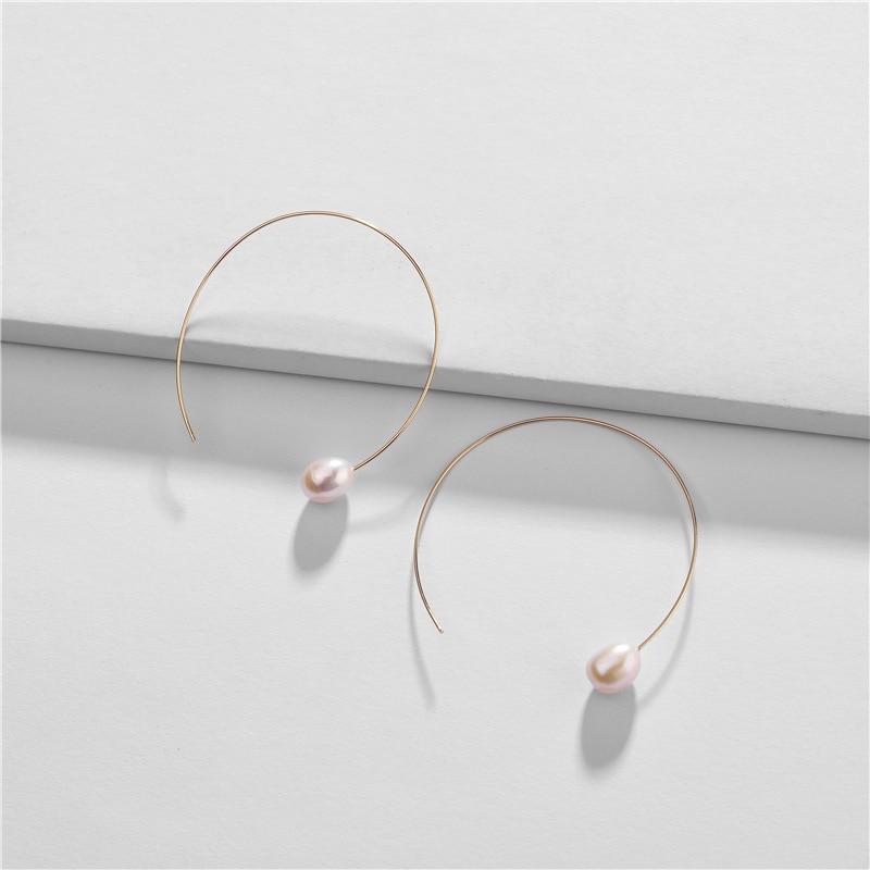 Joolim Jewelry Wholesale Freshwater Pearl Threader Earring Design Jewelry