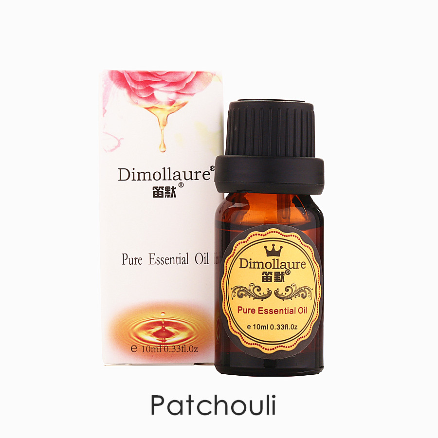Dimollaure drop shipping Patchouli essential oil acne treament Diminish inflammation Aphrodisiac Encourage Repel mosquitoes-0
