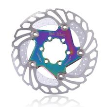 140-S1 Mountain Road Bike Brake Cooling Disc Floating Ice Rotor For MTB Gravel 203mm 180mm 160mm 140mm Cool Down