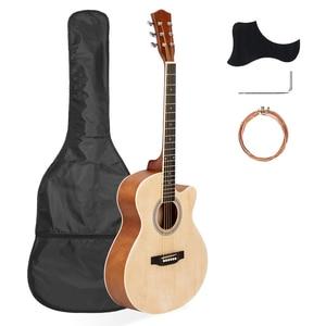 40 Inch Cutaway Acoustic Guita