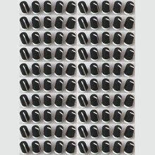 100 peças substituem o botão giratório preto eq para o dj pioneiro mixer djm djm 2000 900 850 750 700 800, daa1176 daa1305 preto
