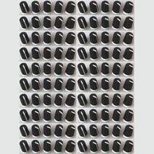 100PCS เปลี่ยนสีดำ EQ ลูกบิดหมุนสำหรับ Pioneer DJ ผสม DJM djm 2000 900 850 750 700 800,  DAA1176 DAA1305 สีดำ