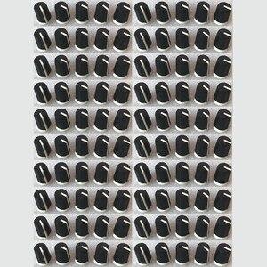 100PCS Replace Black EQ Rotary Knob For Pioneer DJ MIXER DJM djm-2000 900 850 750 700 800, - DAA1176 DAA1305 BLACK(China)