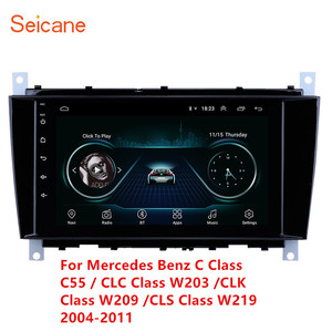 Android 8.1 GPS Car Multimedia Player for Mercedes Benz C Class C55 / CLC Class W203 /CLK Class W209 /CLS Class W219 2004- 2011(China)